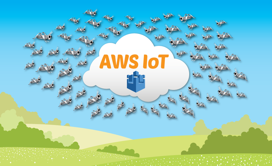 Hatch a swarm of AWS IoT things using Locust, EC2 and get